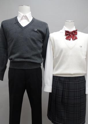 女子ニットベスト/セーター