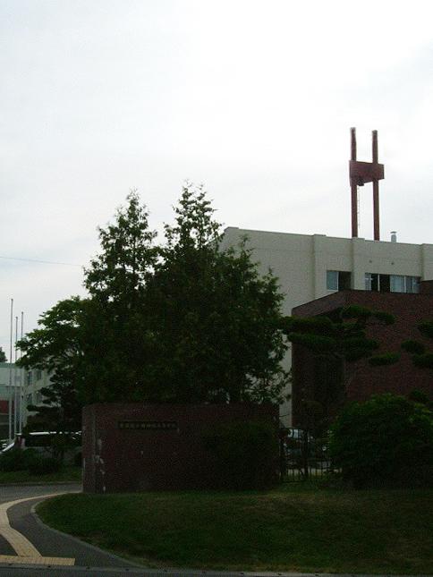 小樽潮陵高校の外観画像