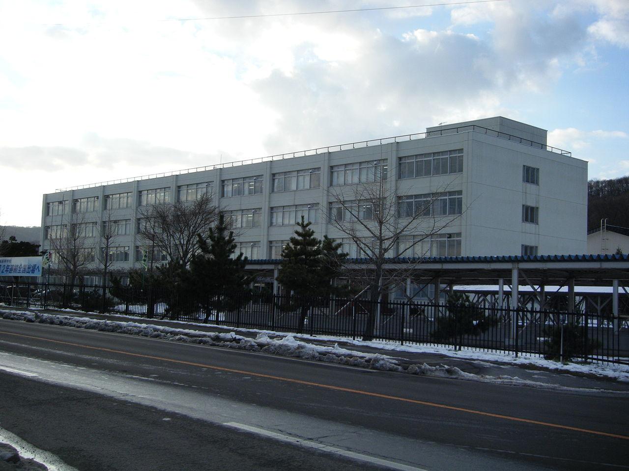 登別青嶺高校の外観画像