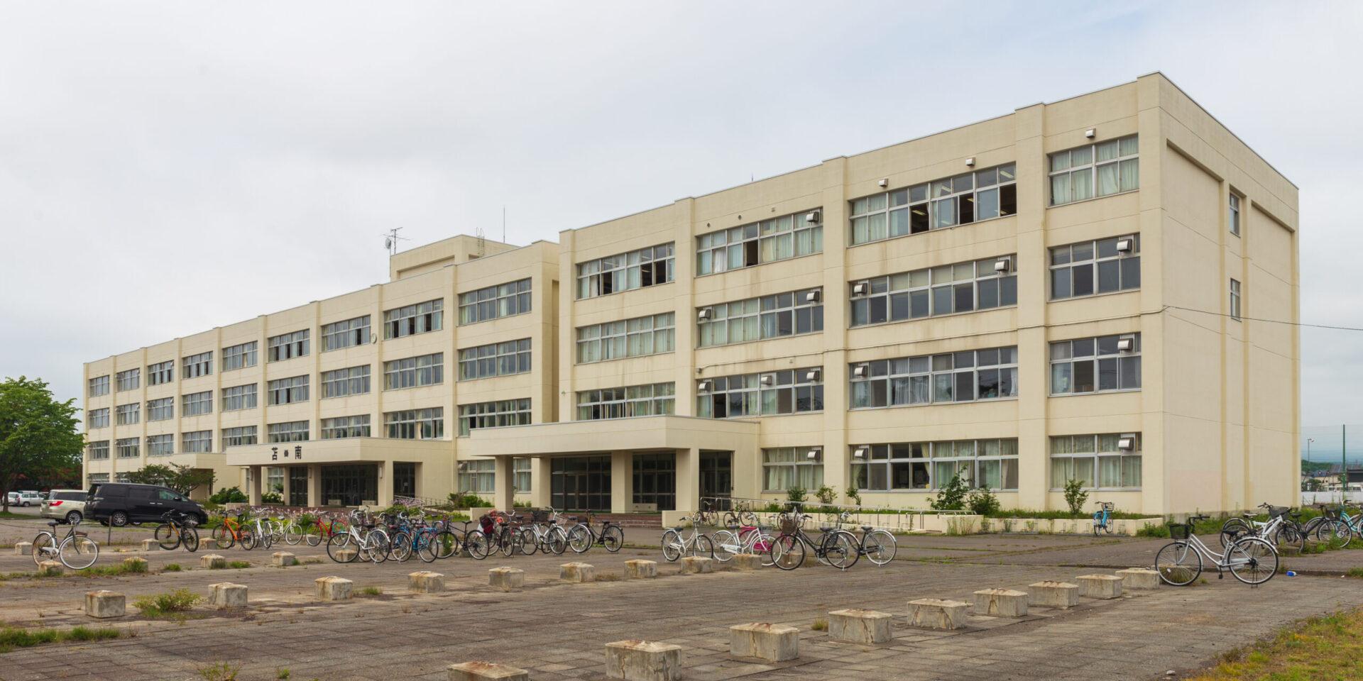 苫小牧南高校の外観画像