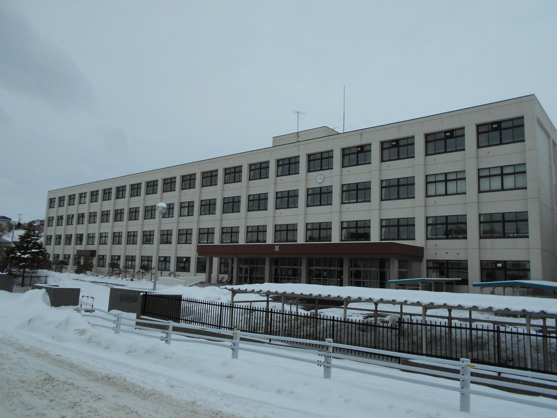釧路北陽高校の外観画像