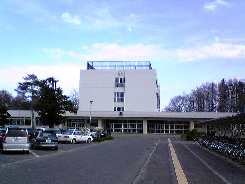 網走南ヶ丘高校の外観画像