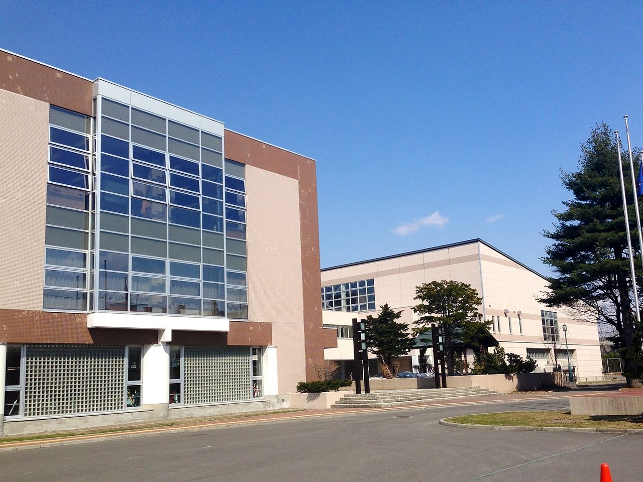 旭川東高校の画像
