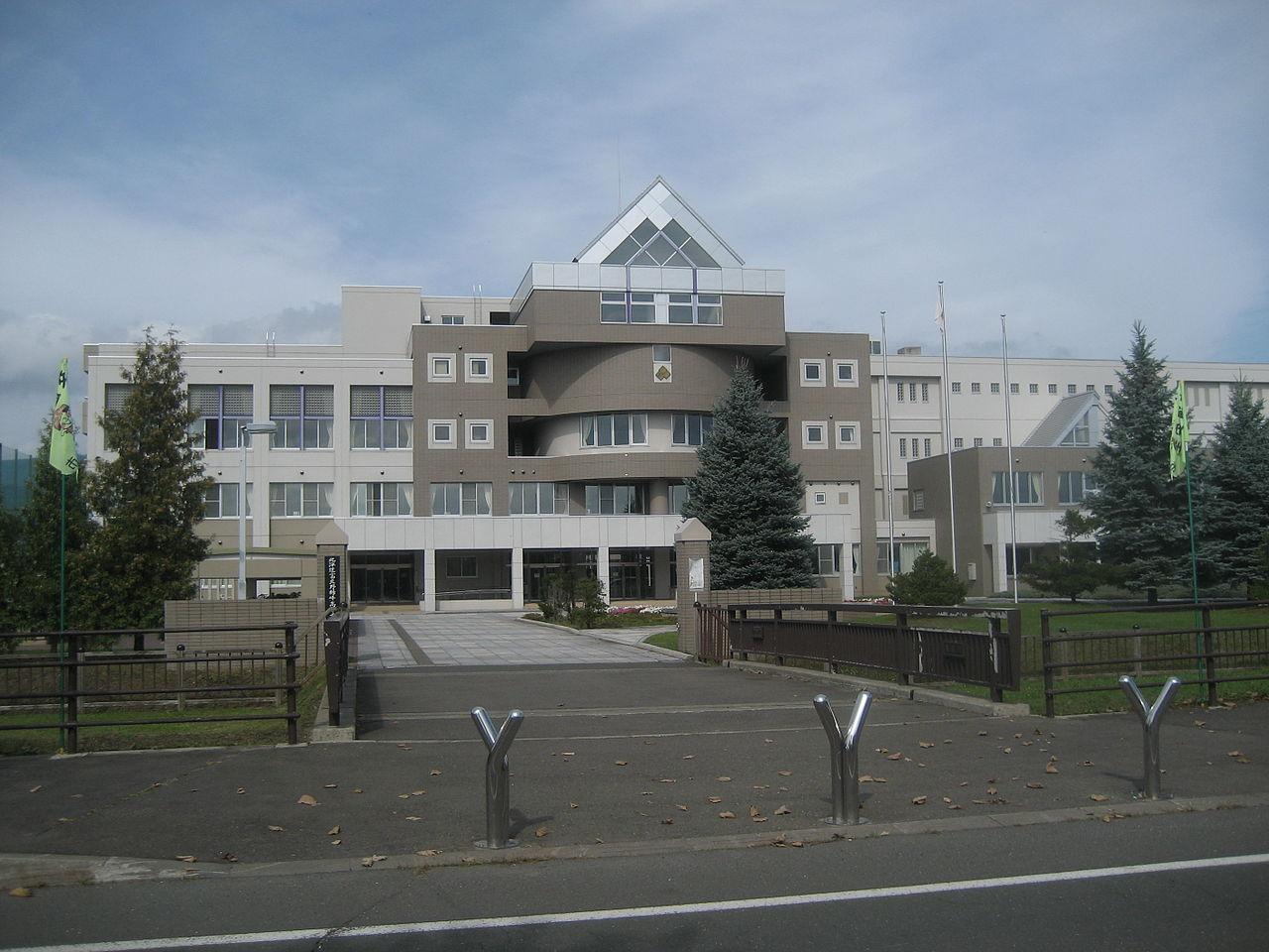 富良野緑峰高校の外観画像