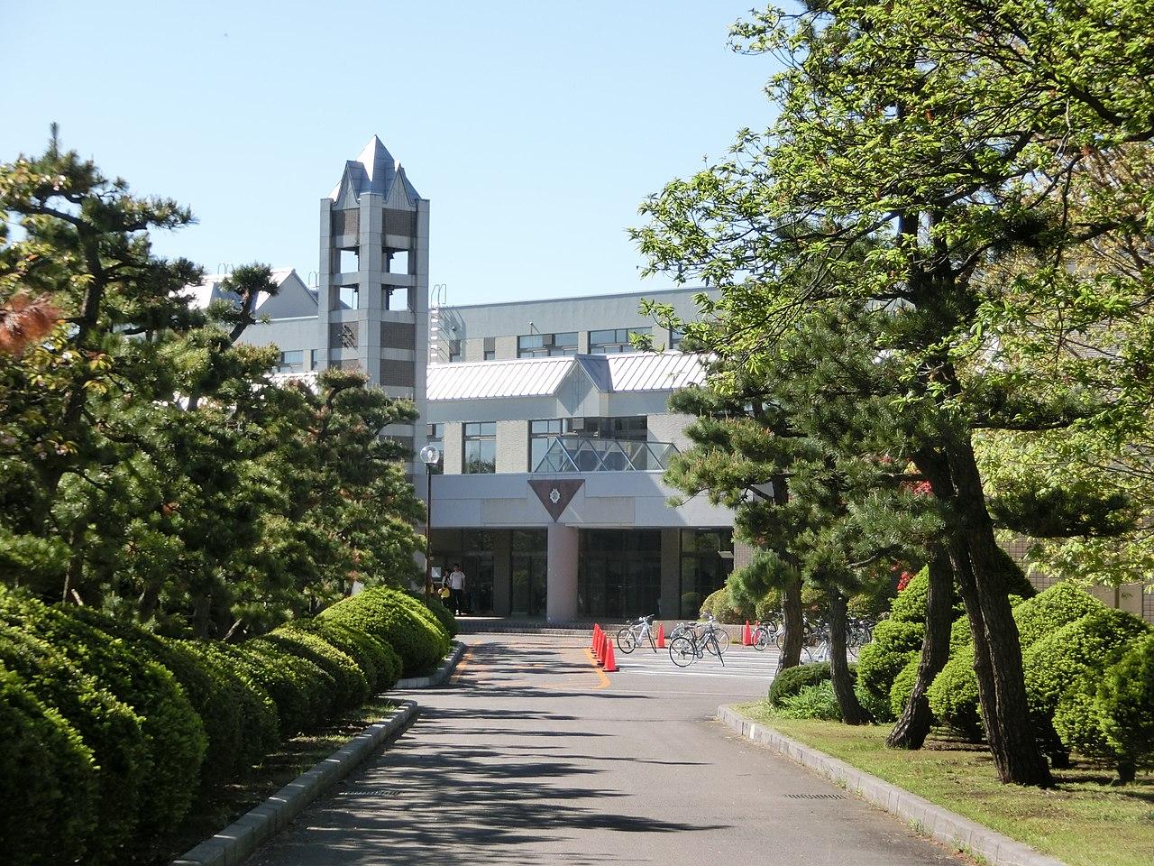函館ラ・サール高校の外観画像