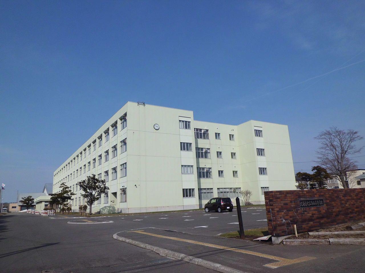 北広島西高校の外観画像