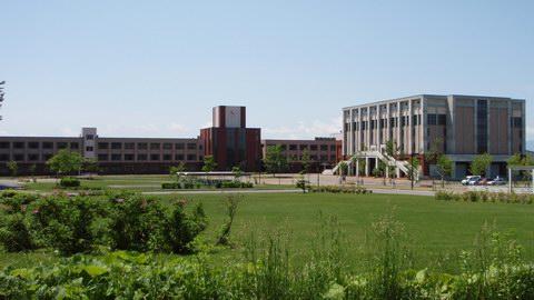 立命館慶祥高校の外観画像