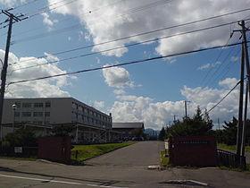 札幌厚別高校の外観画像