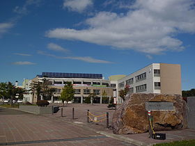 札幌啓成高校の外観画像