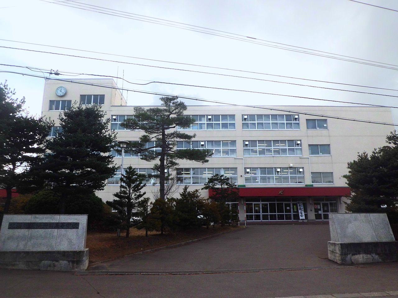 札幌清田高校の外観画像