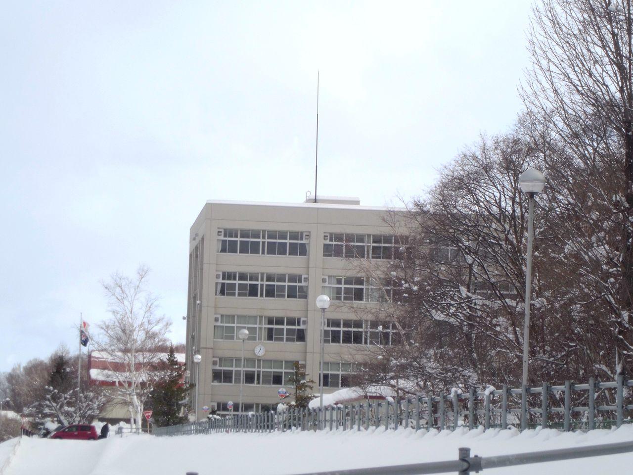 札幌南陵高校の外観画像
