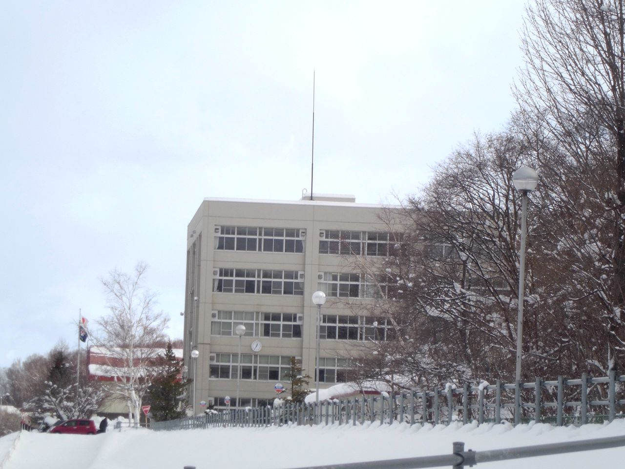 札幌南陵高校の画像
