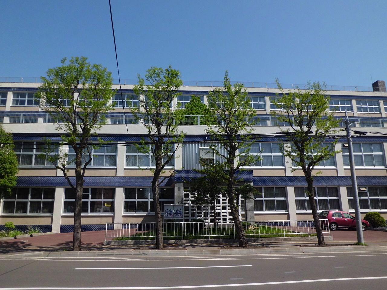 札幌静修高校の外観画像