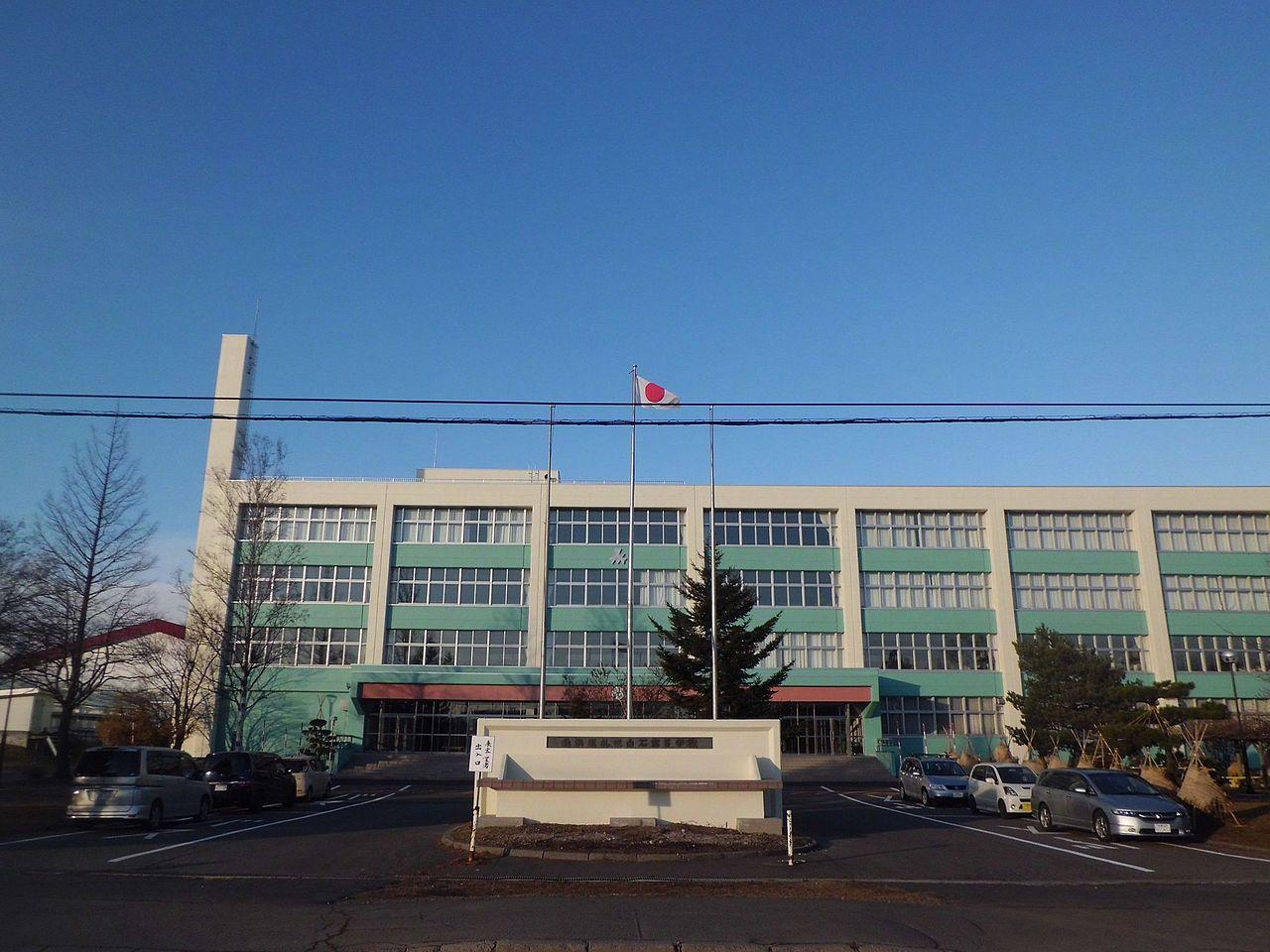 札幌白石高校の外観画像