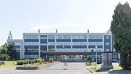 滝川西高校の外観画像