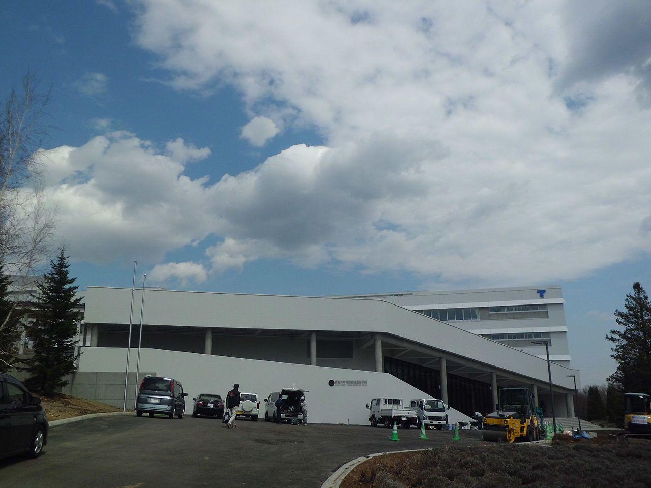 東海大学付属札幌高校の外観画像