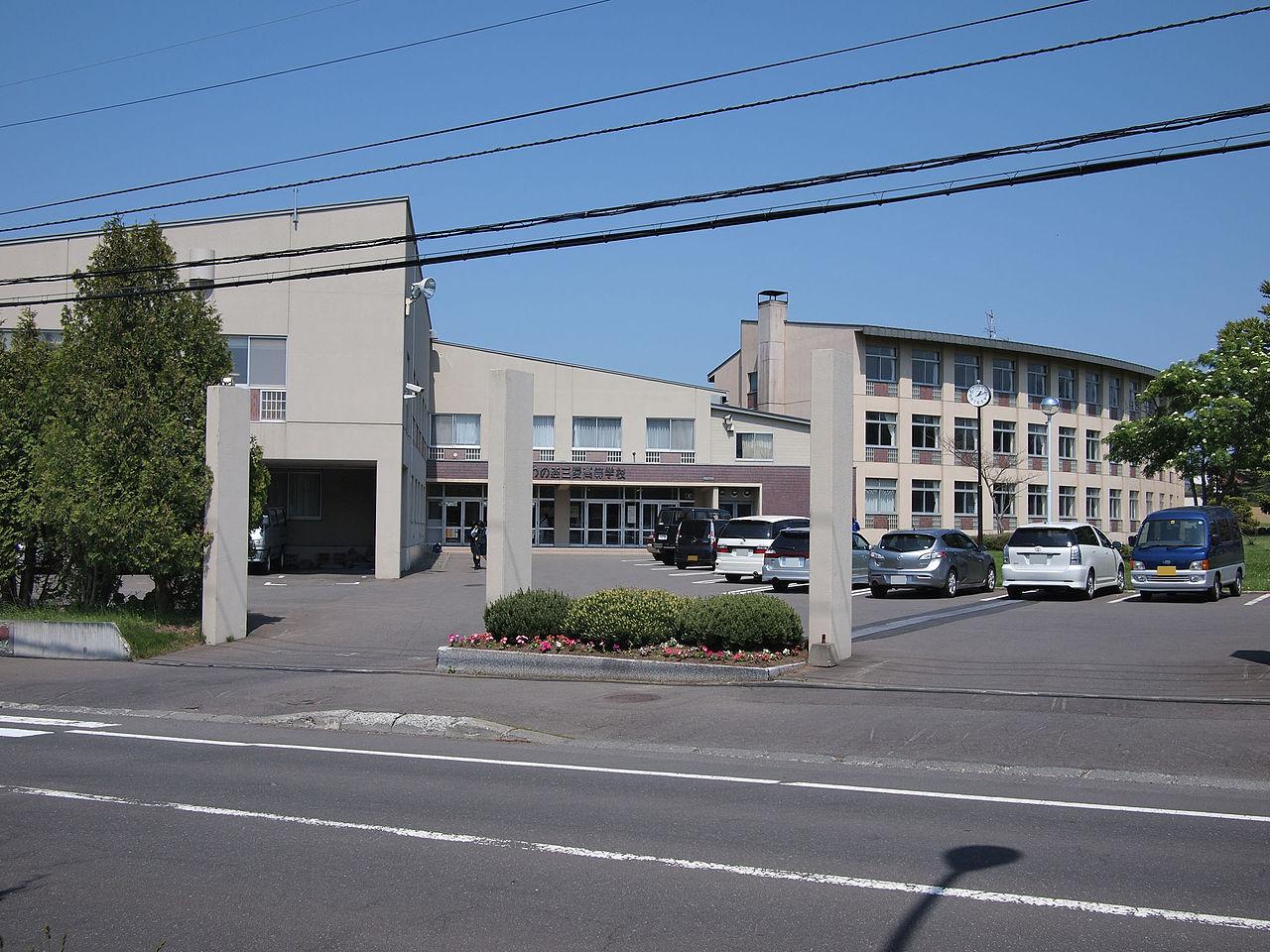とわの森三愛高校の外観画像