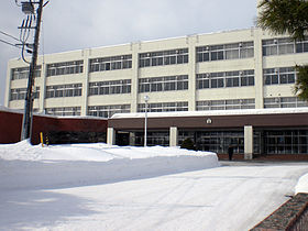 大麻高校の外観画像