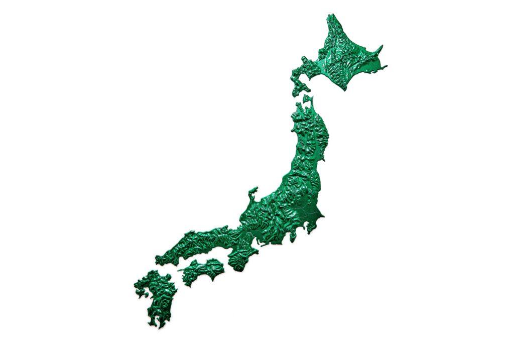 地図 テスト 日本